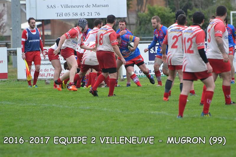2016-2017 SENIORS 2 VILLENEUVE - MUGRON