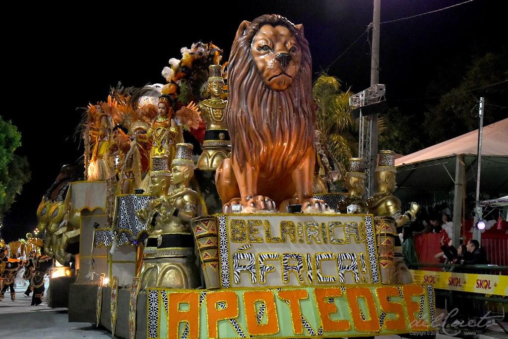 Uruguaiana, carnaval 2017, sexta-feira