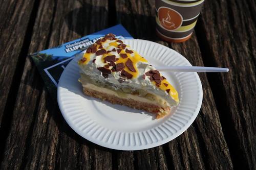 Stachelbeer-Eierlikör-Torte (beim Ibbenbürener Klippenlauf)