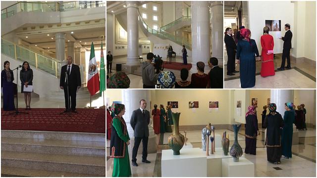 Conmemoración del XXV aniversario del establecimiento de relaciones diplomáticas entre México y Turkmenistán