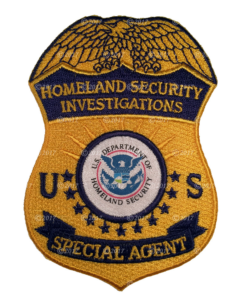Homeland security investigations hsi special agent badge flickr homeland security investigations hsi special agent badge patch by patch collector buycottarizona