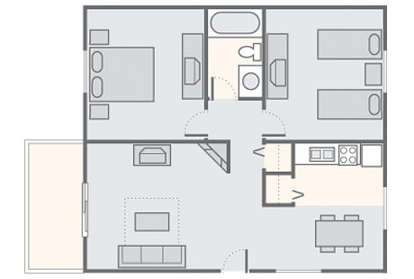 by bluegreen vacation christmas mountain village 2 bedroom cottage 650 sq ft by bluegreen vacation - Bluegreen Christmas Mountain