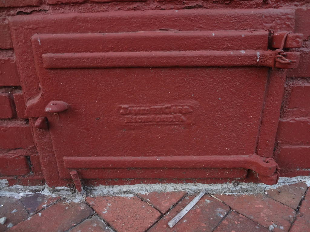 Coal Chute Door In Church Hill Richmond Va Paul Sableman Flickr