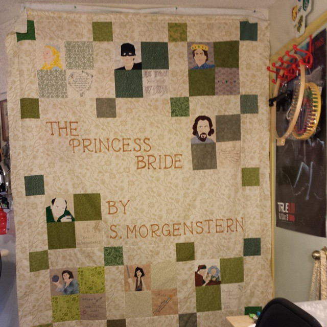 Progress! #AsYouWish #princessbride #fandominstitches