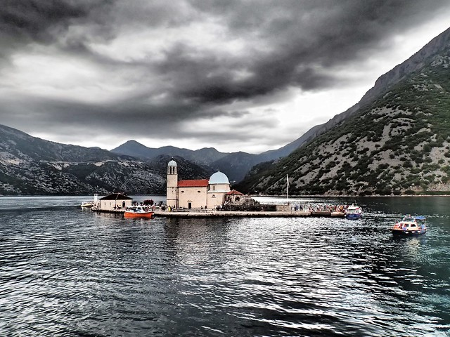 Our Lady of the Rocks, Bay of Kotor, Montenegro