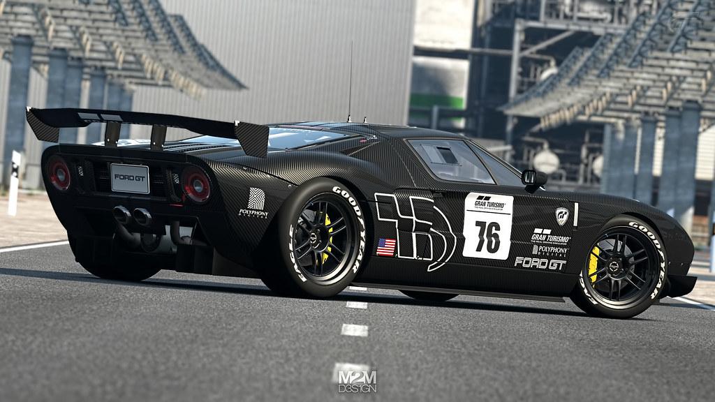 Gran Turismo Ford Gt Lm Spec Ii Test Car By Maurizio Mancin Mm Design