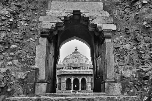 Tomb of Isa Khan | by alfieianni.com