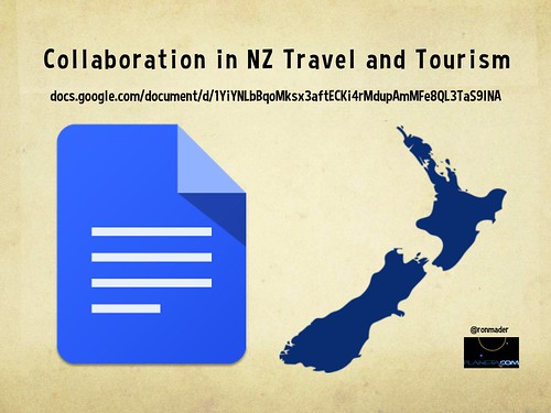 Collaboration in New Zealand Travel and Tourism