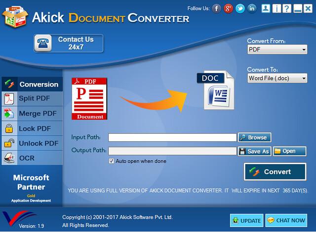 Akick Document Converter