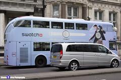 Wrightbus NRM NBFL - LTZ 1168 - LT168 - Swatch - Green Park 9 - RATP London - London 2017 - Steven Gray - IMG_9144