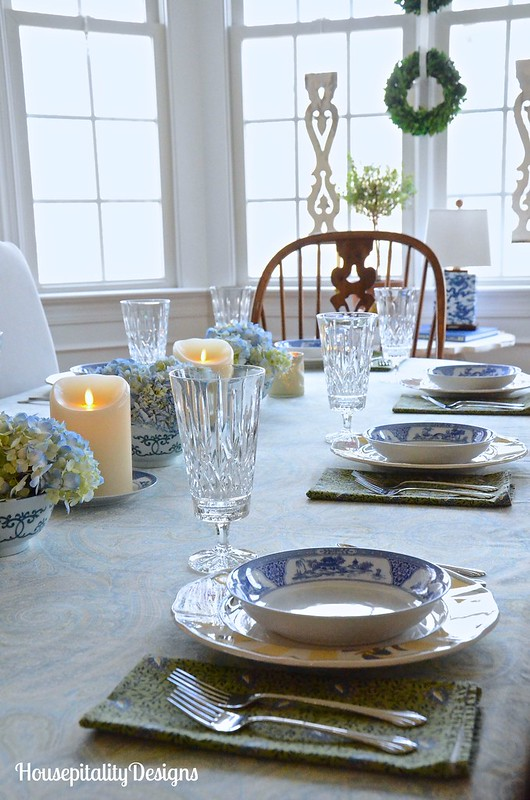 Hydrangea Tablescape-Housepitality Designs