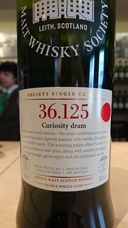 SMWS 36.125 - Curiosity dram
