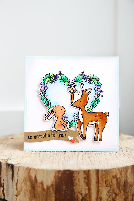 springtime cards (with Neat and Tangled)