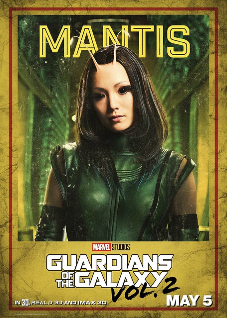Guardians of the Galaxy Vol 2 (2017) poster Mantis