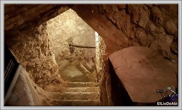 Bodegas medievales don Angel y don Carlos en Aranda de Duero  (1)