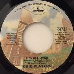 OHIO PLAYERS:LOVE ROLLERCOASTER(LABEL SIDE-B)