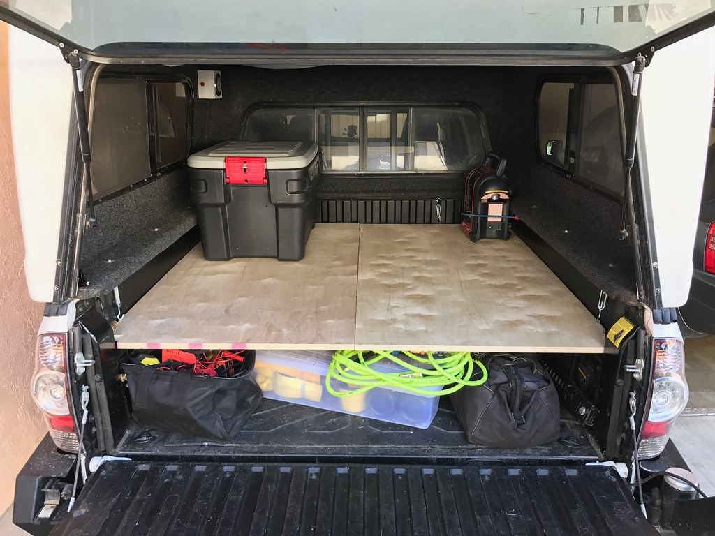 Show Us Your Truck Bed Sleeping Platform Drawer Storage