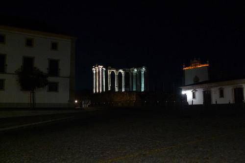 Roman Temple -  Evora, Portugal