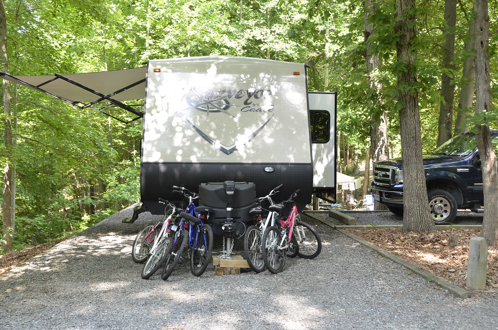 Camping at Occoneechee State Park
