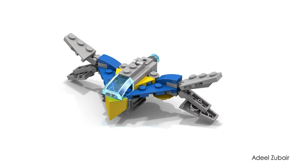 Lego Guardians Of The Galaxy Mini Milano Updated Design Flickr