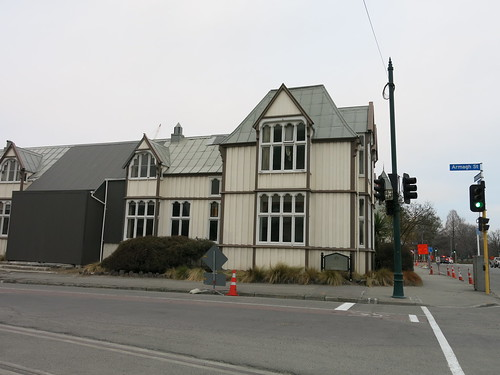 Canterbury Provincial Buildings - Armagh Street