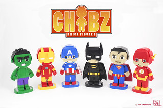 Presenting the CHIBZ brick figures | by J.B.F