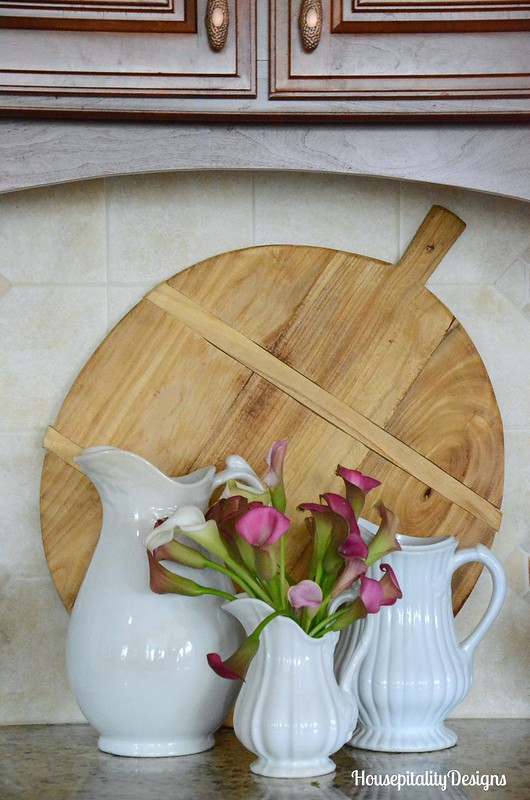 Ironstone-Breadboard-Calla Lillies-Kitchen-Housepitality Designs