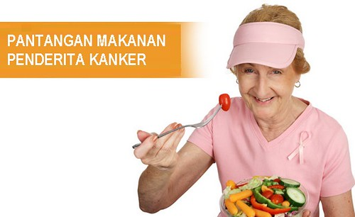 Pantangan Makanan Penderita Kanker Serviks