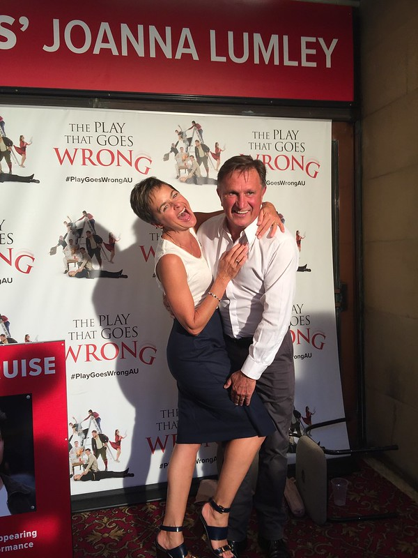 The Play That Goes Wrong opening night