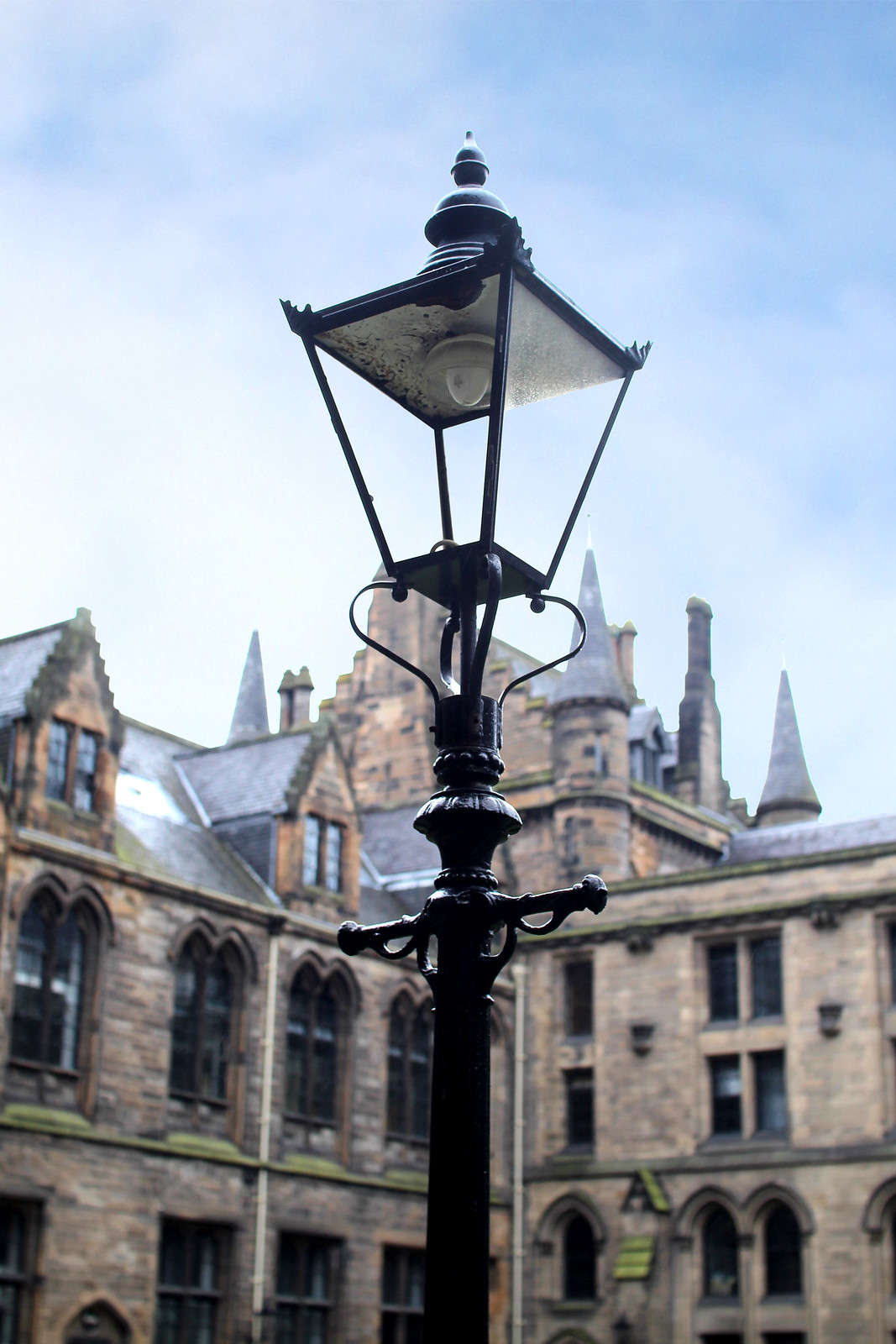 Glasgow University UK travel blogger