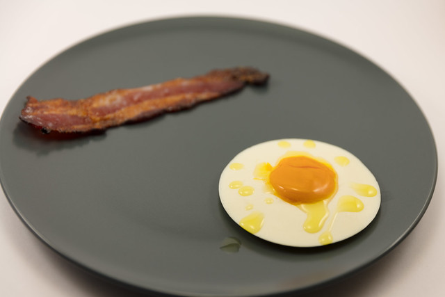Bacon and Egg dessert