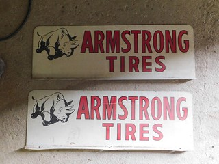 Armstrong Tires tin signs | by thornhill3