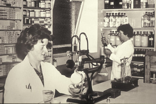 hospital pharmacy, 1970s | by liverpoolhls