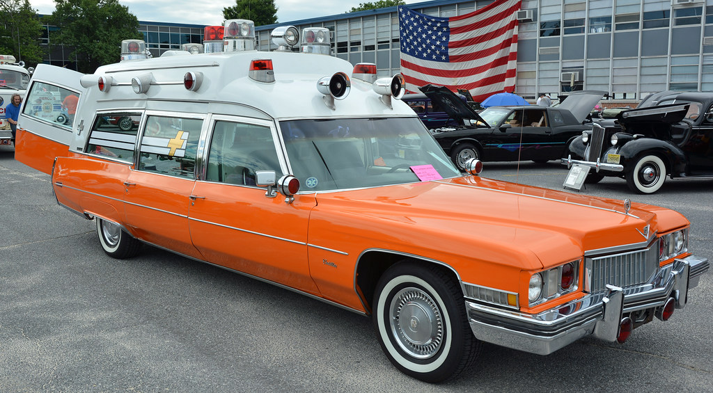 1973 Cadillac Ambulance | Peter Miller | Flickr