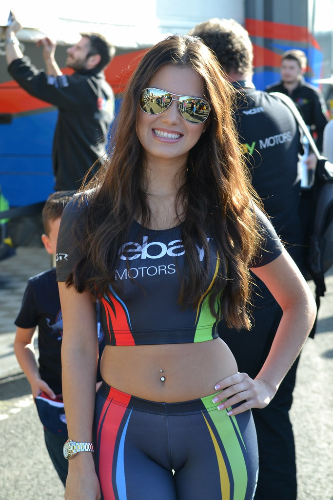 Ebay Motors Grid Girl | jambox998 | Flickr