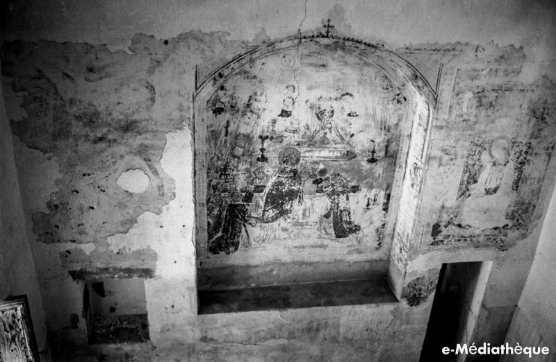 Capilla de San Jerónimo del Convento de la Concepción Francisca en Toledo en agosto de 1965. Fotografía de Jacques Revault © e-Médiathèque | Médiathèque SHS de la Maison méditerranéenne des sciences de l'homme