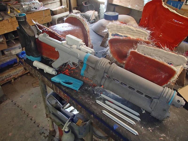 E-22 Parts Front