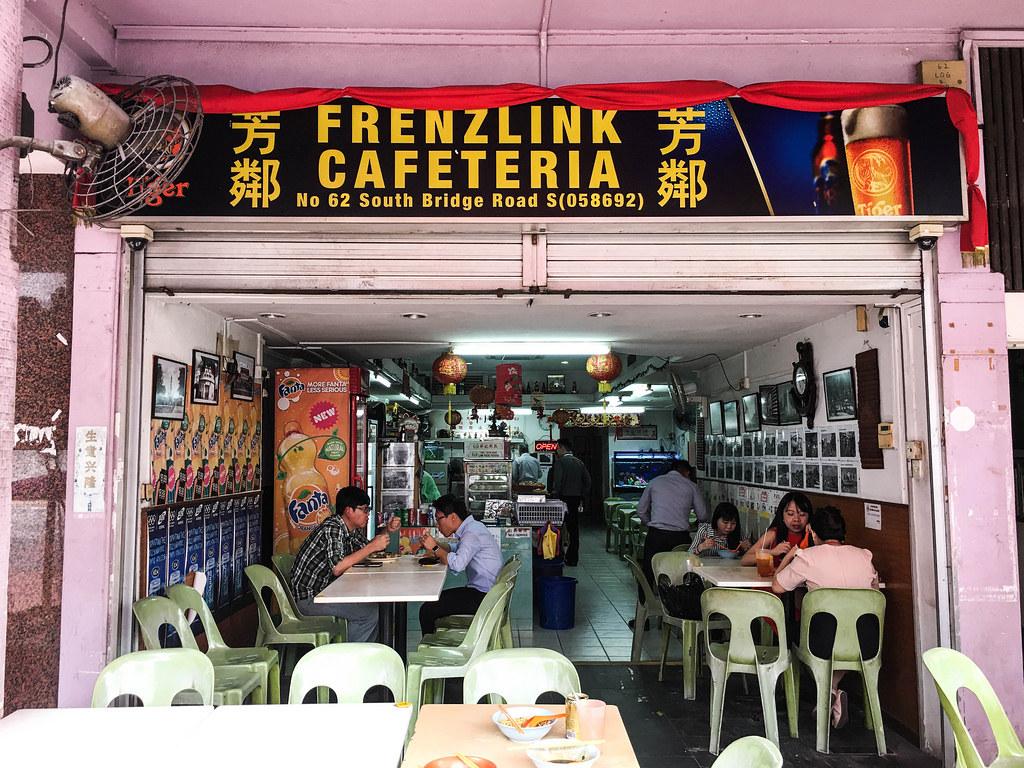 Laksa: Frenzlink Cafeteria