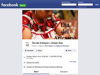 Artisan Day on Facebook