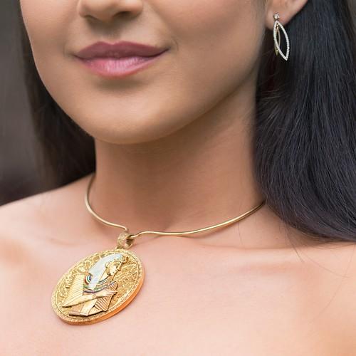 pendant-earrings