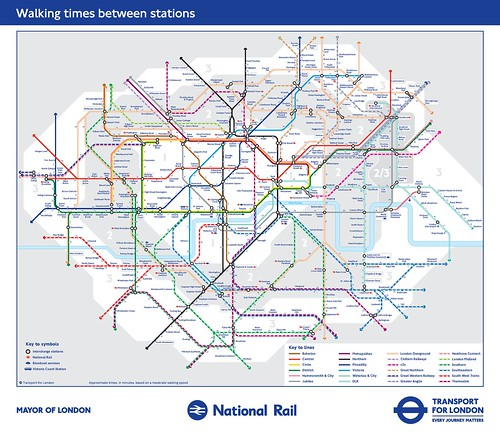 London Underground walking-tube-map-zones-1-31
