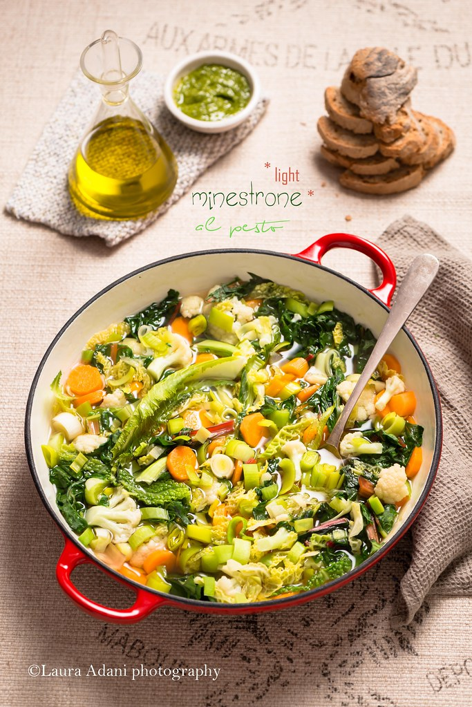 minestrone *light al pesto