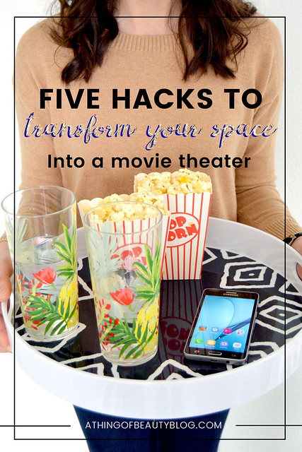 Five Hacks to Turn Your Space into a Personal Movie Theater
