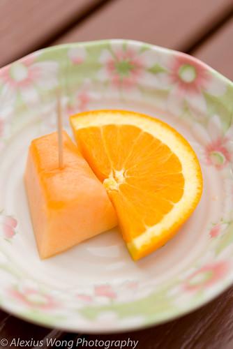 Complementary Fruit, Ikko Sushi