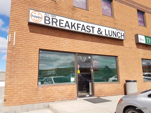 Happy All-Day Breakfast & Lunch storefront