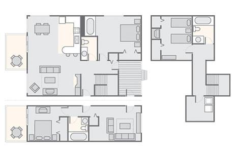 by bluegreen christmas mountain village 3 bedroom deluxe timber 1600 sq ft by bluegreen - Bluegreen Christmas Mountain