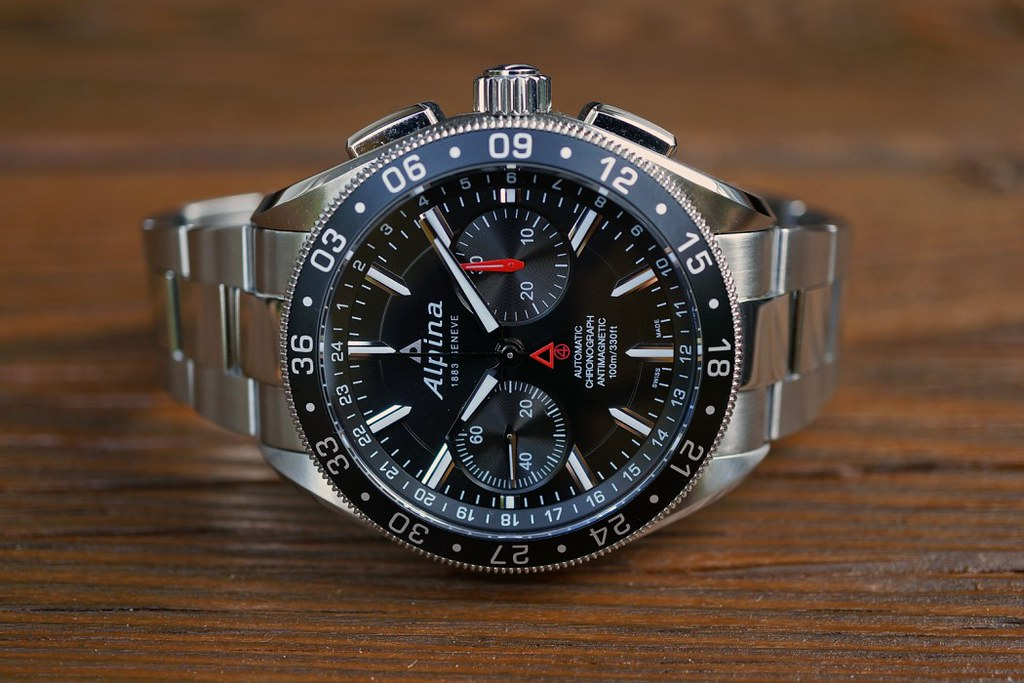 The Alpina Watches Alpiner Chronograph Professional A Flickr - Alpina watches