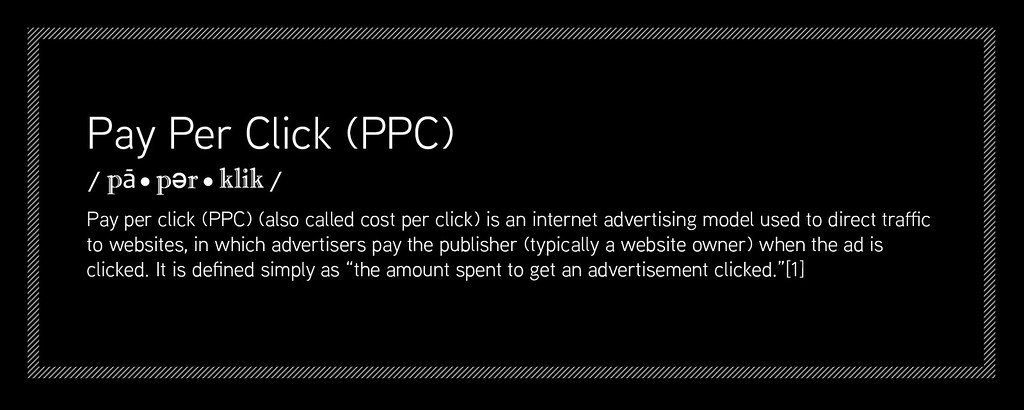 Pay Per Click Advertising