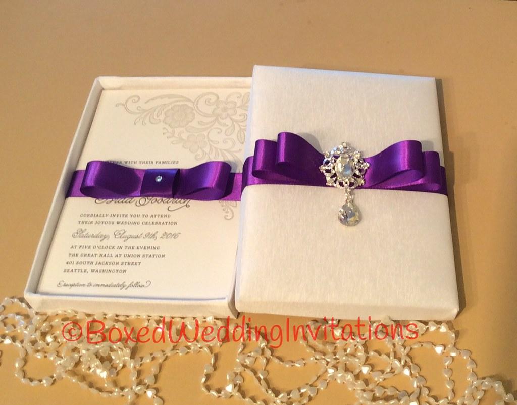 Luxury Wedding Invitation / Couture Wedding Invitation / W… | Flickr