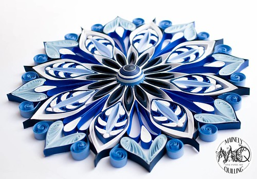 Quilled Mandala - Mainely Quilling